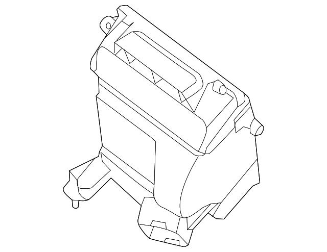 2000 Nissan Maxima Air Cleaner
