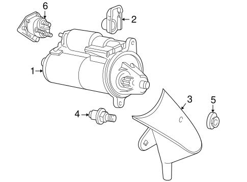 2002 mazda b2300 engine diagram starter for 2002 mazda b3000 realmazdaparts com  starter for 2002 mazda b3000