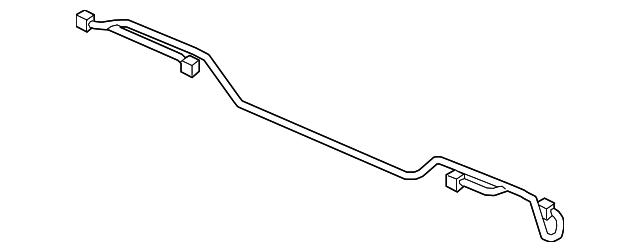 genuine 2017 honda ridgeline sedan wire harness  rear