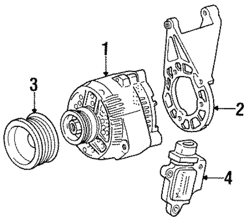 1993 Taurus Alternator Wiring Diagram