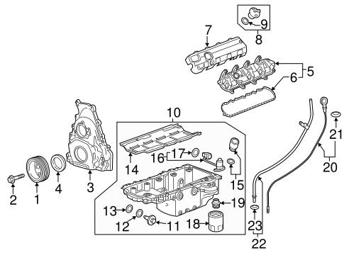 Oem Engine Parts For 2017 Chevrolet Camaro
