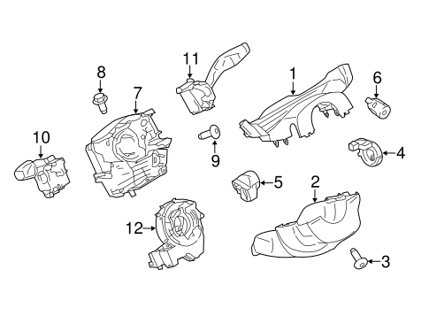 Electrical/Anti-Theft Components for 2015 Ford Transit-150 #2