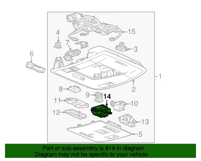sunroof switch gm 22818011 gmpartsdirect com rh gmpartsdirect com