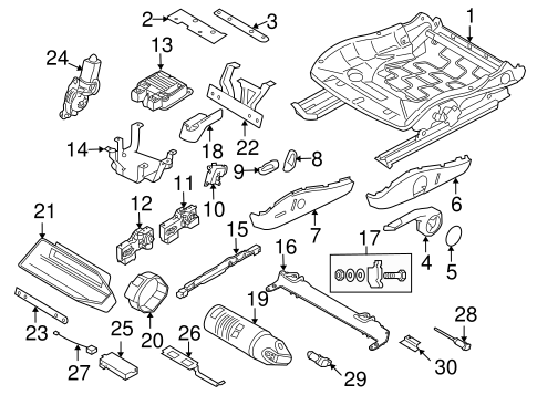 Tracks Components For 2007 Porsche Cayman