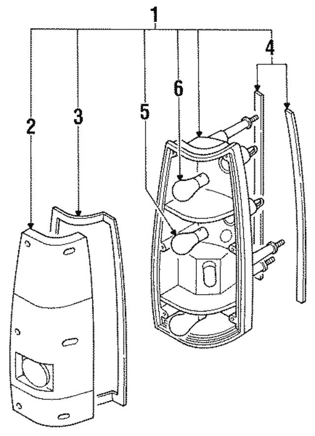 Trooper 1990 Tail Isuzu Lampwiring Diagram - Complete ...