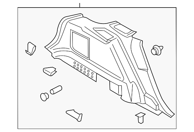 Ford Trim Assembly