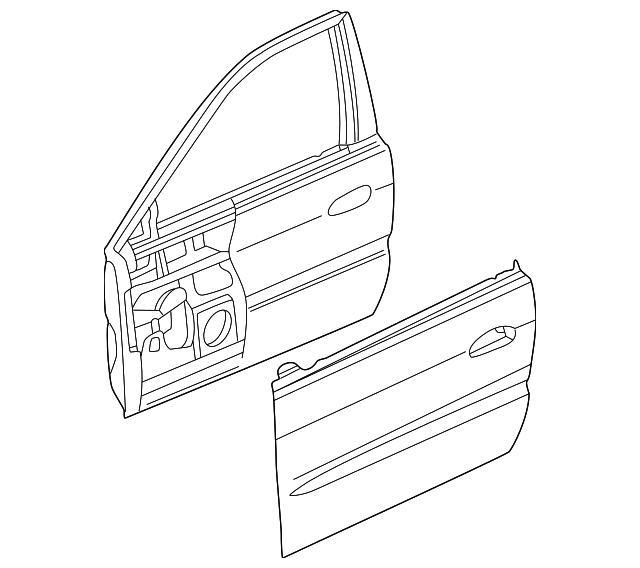 Front Right Honda Genuine 81131-SVA-A01ZA Seat Cushion Trim Cover