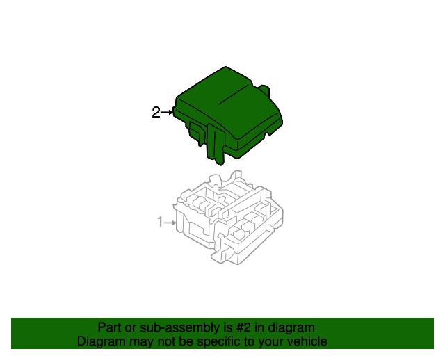 Genuine Hyundai 91950-3S711 Engine Room Cover Assembly