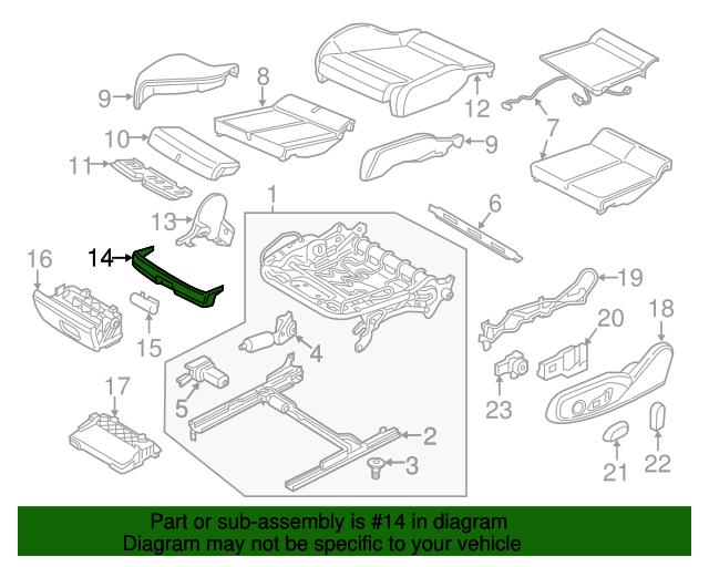 Front Trim Audi 8v0 881 793 4pk Oemaudiparts