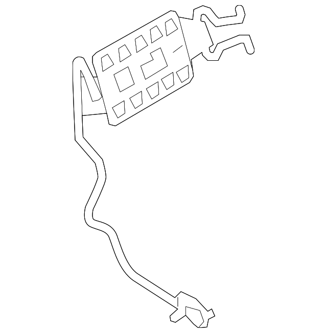 2009 2019 Ford Lumbar Adjuster 9l3z 1665500 A