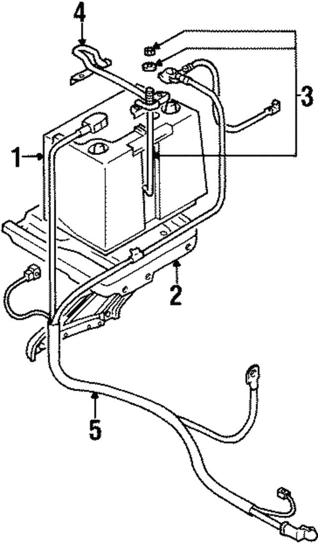 Mitsubishi Battery Wiring Diagram
