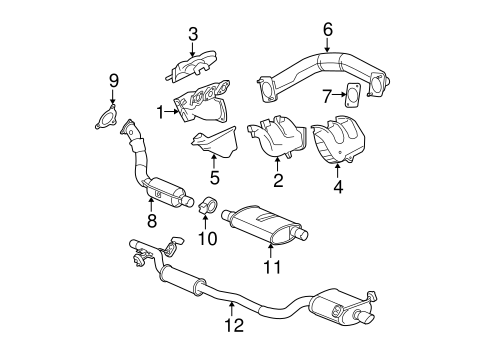 ShowAssembly likewise 04880441AB moreover Intake Exhaust Manifold Diagram also Mopar Cross Over Pipe Gasket 4781040aa moreover Intake Exhaust Manifold Diagram. on chrysler pacifica crossover