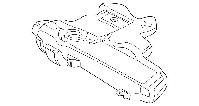 1999 2007 Volkswagen Fuel Tank 1j0 201 060 Df
