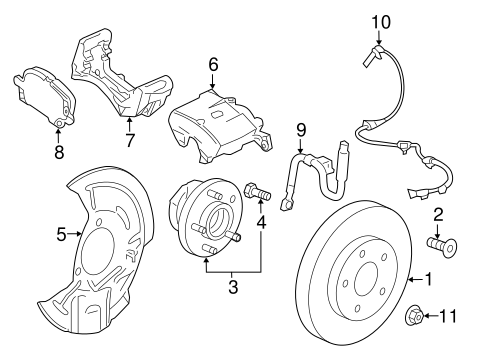 Front Brakes For 2019 Gmc Terrain