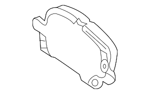 Disc Brake Pad Set - GM (84328256)