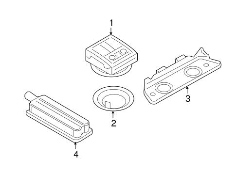 Interior Lamps For 2018 Audi Q7