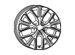 Wheel, Alloy - Mopar (1XC19AAAAA)