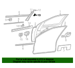 Applique Panel Intermediate Piece - Mercedes-Benz (202-725-01-21)