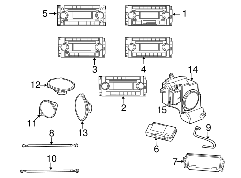 Sound System for 2011 Jeep Patriot | TascaParts.comTasca Parts