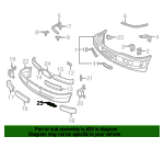 Air Temp Sensor Bracket - Mercedes-Benz (202-885-08-14)