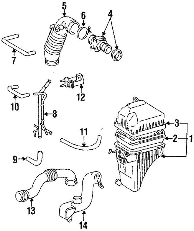 Mass Air Flow Meter Sensor 22250-20020 Fit for Toyota 4Runner Camry Avalon USPS
