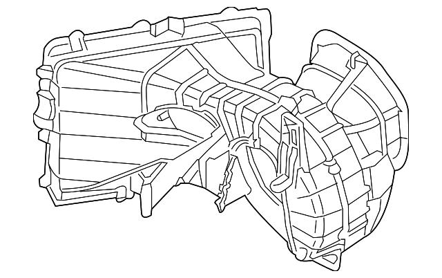 Audi Q7 Blower Motor