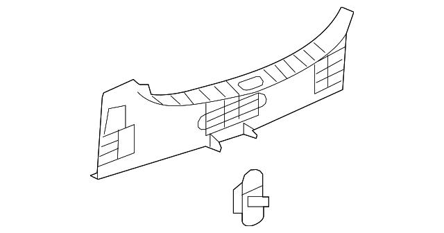 Rear Panel Trim
