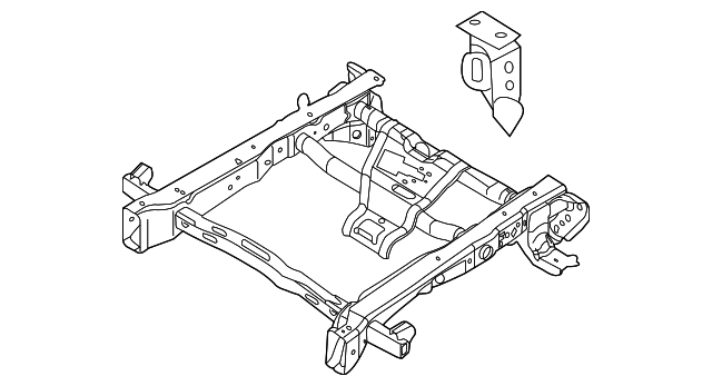 f 150 frame diagram rear frame ford  fl3z 17n775 d  tascaparts com  rear frame ford  fl3z 17n775 d
