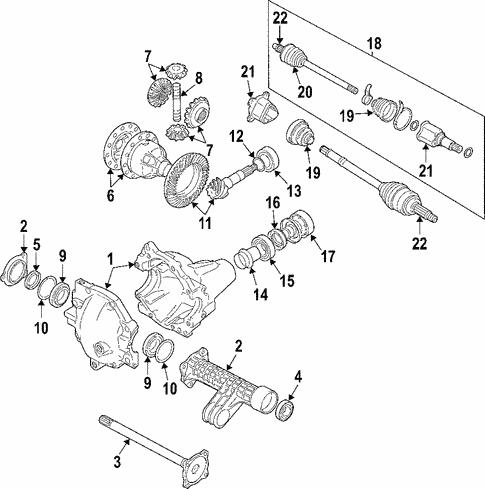 Suzuki grand vitara front differential