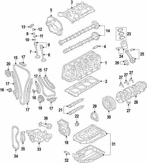 engine parts for 2012 audi a6 | audi usa parts  audi oem parts & accessories