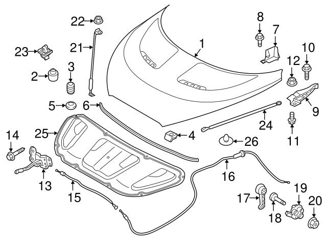 Fender Liner Retainer