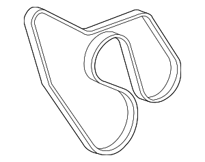 Serpentine Belt - GM (88986813)