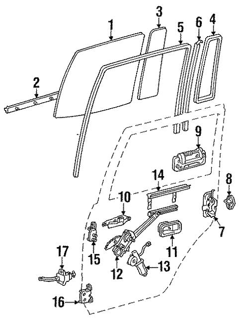 rear door for 1994 toyota land cruiser