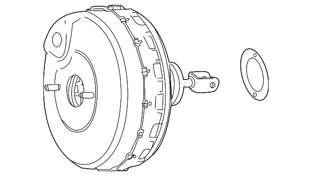 2008 2015 Mercedes Benz Booster Assembly 005 430 85 30