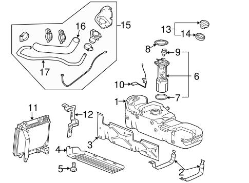 fuel system components for 2008 gmc sierra 2500 hd. Black Bedroom Furniture Sets. Home Design Ideas