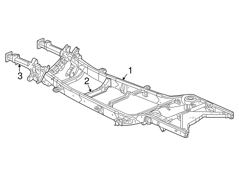 Frame Components For 2006 Dodge Dakota
