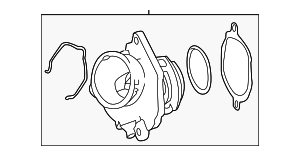 Thermostat - Mercedes-Benz (272-200-04-15)