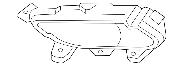 fog lamp assembly bracket