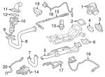 2012-2018 Mercedes-Benz Nox Sensor 000-905-35-03   mb parts exp