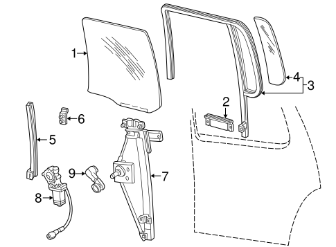 Rear door for 1999 ford explorer ford parts catalog for 1999 ford explorer rear window hinge