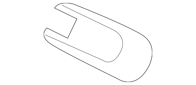 Genuine Hnda Rear Tailgate Windshield Wiper Arm Cover 76721-T4N-H01