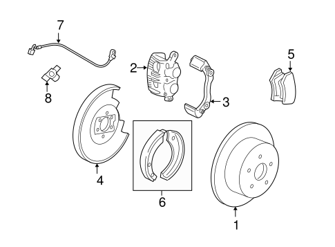 Brakes/Rear Brakes for 2008 Ford F-150 #1