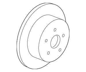Rotor - Ford (BL3Z-2C026-C)
