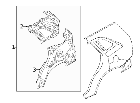 Inner Structure for 2011 Kia Sorento #0