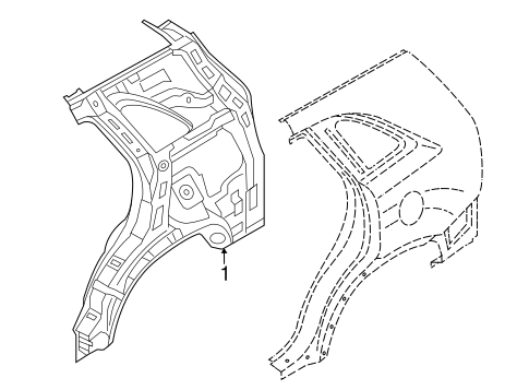 Inner Structure For 2014 Kia Sorento