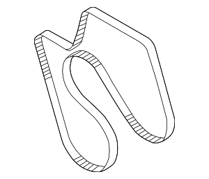 Serpentine Belt - GM (12642433)