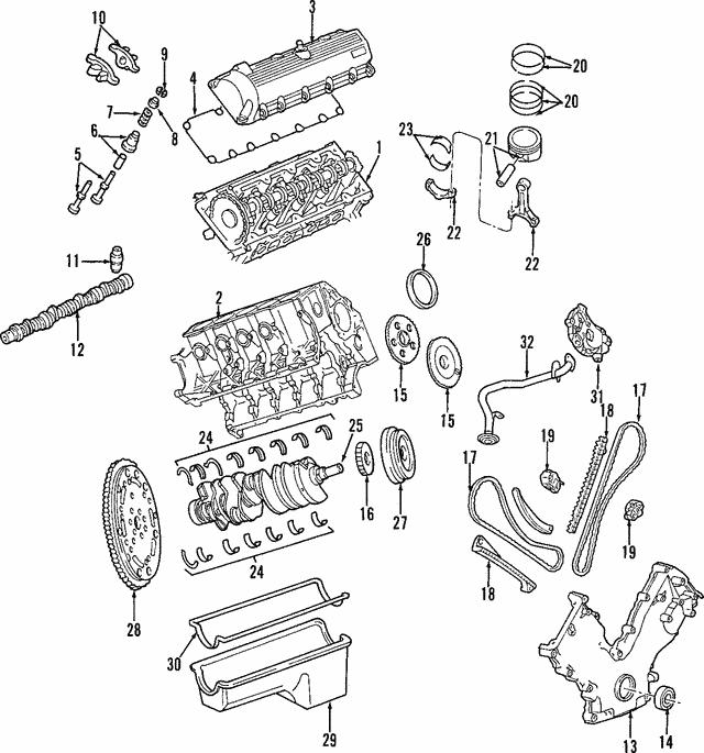 Phenomenal 1997 2014 Ford Crankshaft F7Uz 6303 A Beechmont Ford Parts Wiring 101 Hisonstrewellnesstrialsorg