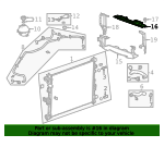 Air Deflector - GM (84147801)