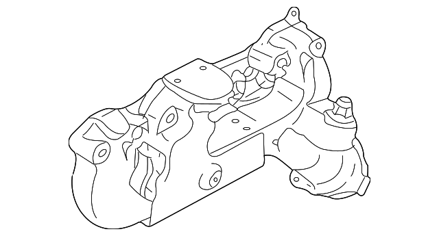 Genuine Gm Exhaust Manifold 12550122