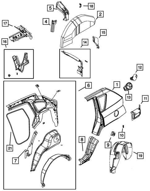 2007 Jeep Patriot Sport Belt Diagram